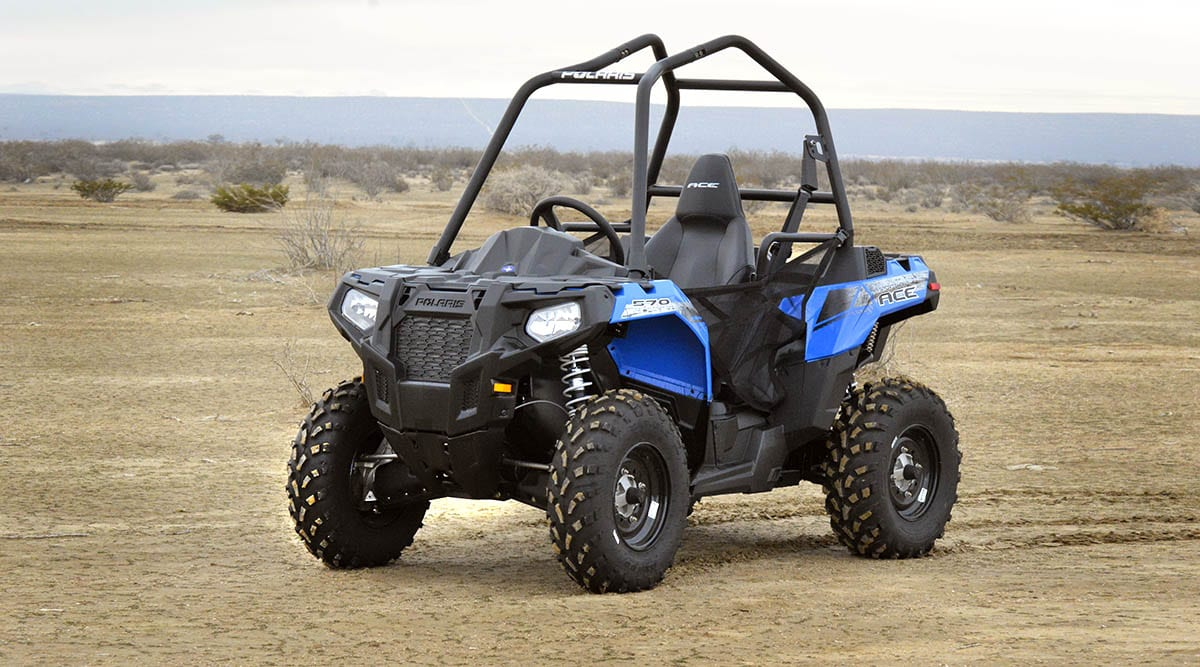 Polaris releases 150cc ACE Kids SxS