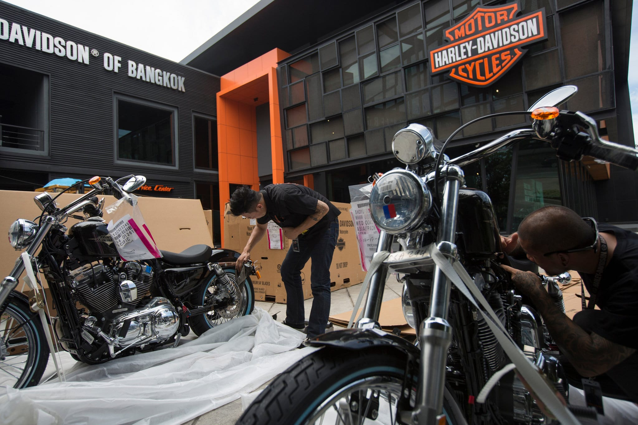 Harley-Davidson to open Plant in Thailand