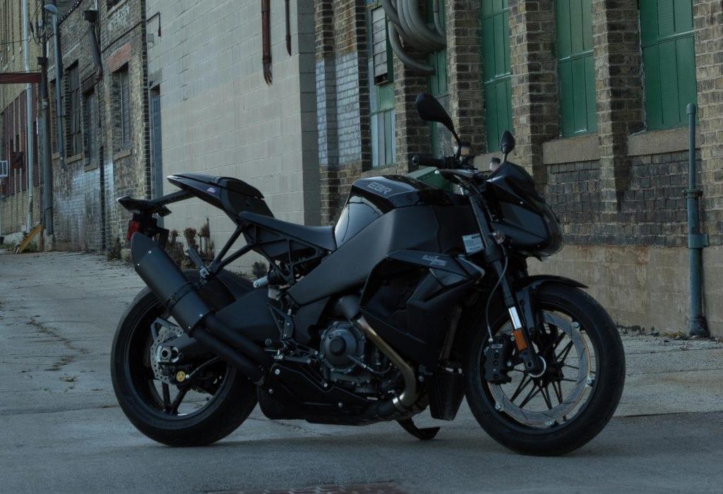 Erik Buell Racing Motorcycles Black Lightning 1190