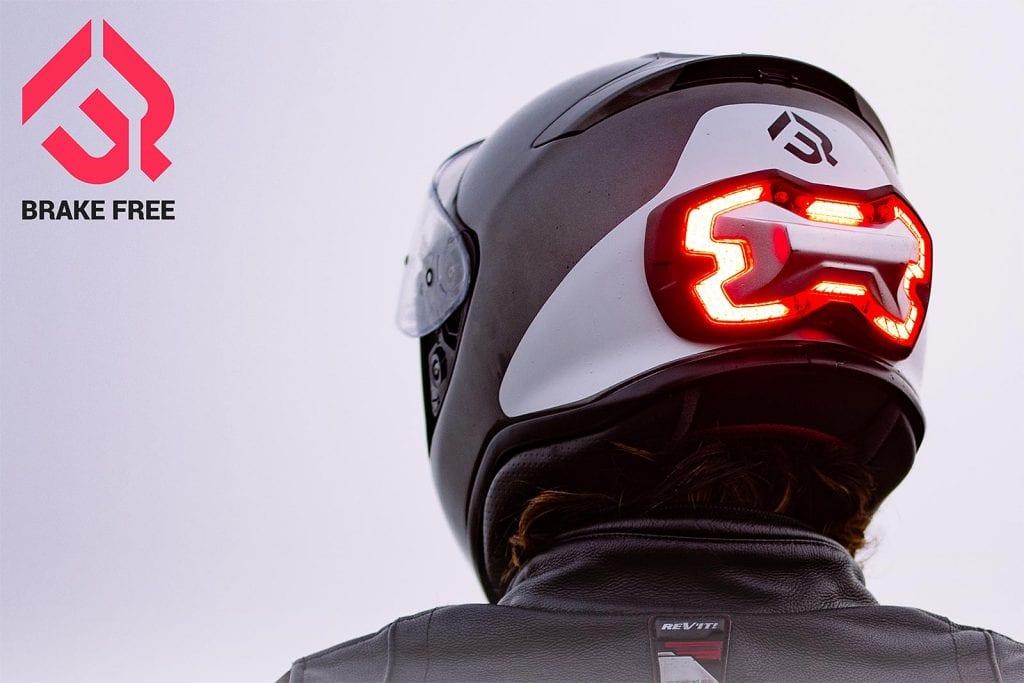 Brake Free Surpasses Crowdfunding Goal for Autonomous Motorcycle Brake Light Helmet