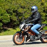 KTM Electric Duke 390 Spied Photos
