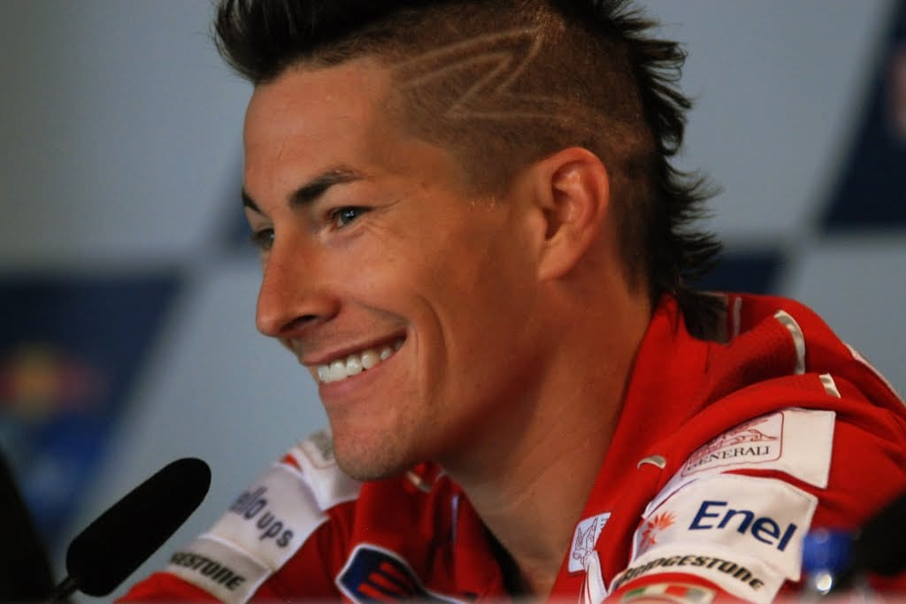 Nicky Hayden Crash Car Bike