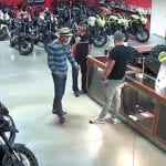 Burglars Hit Honda Motorcycle Dealership