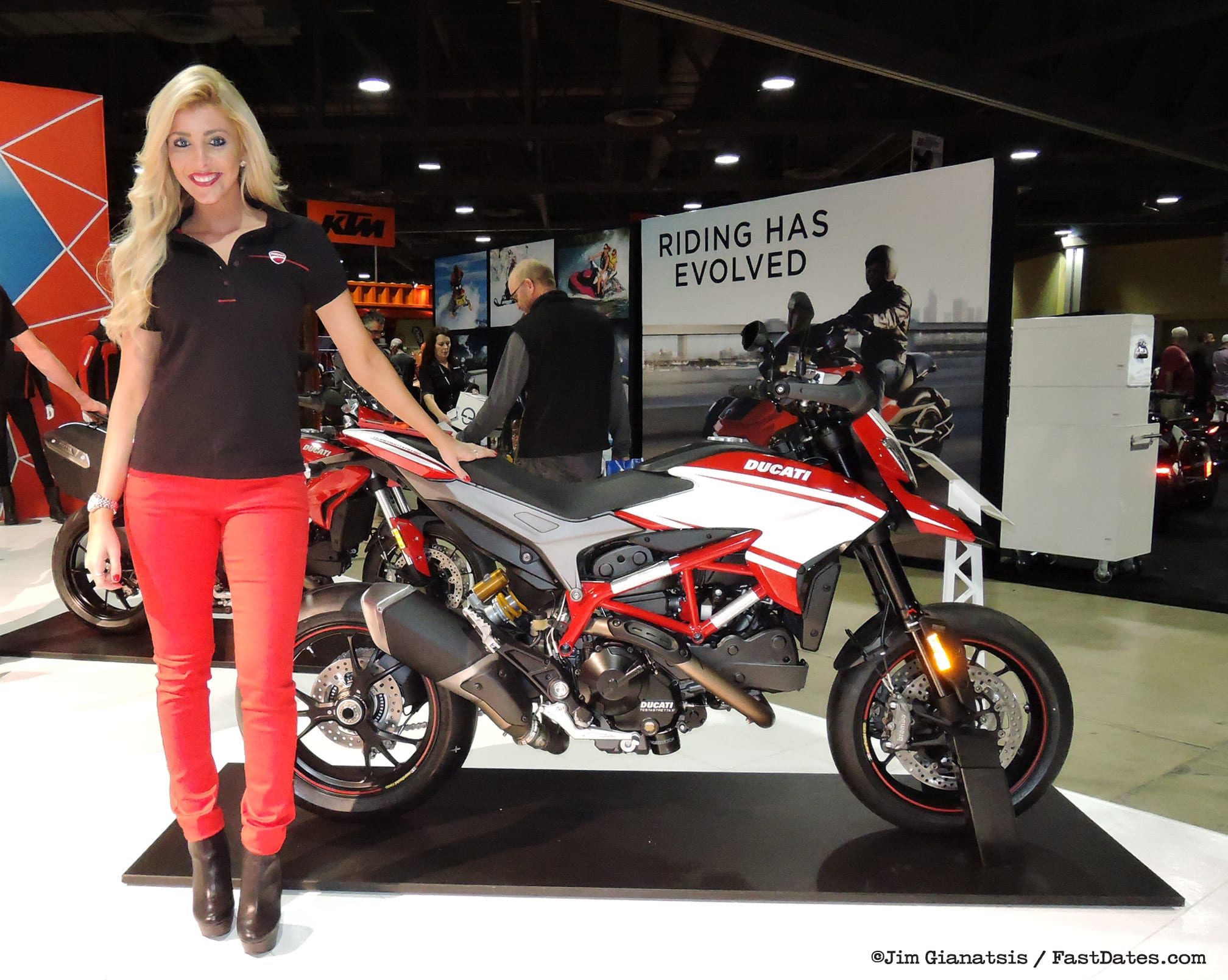Long Beach International Motorcycle Show 2016
