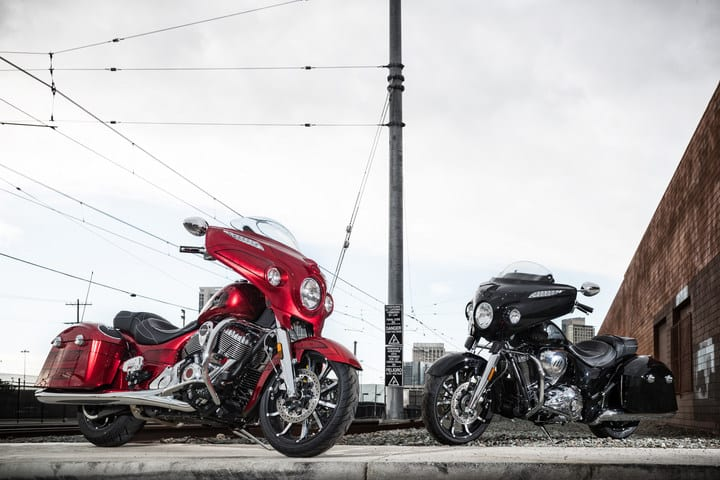 2017 Indian Chieftain Limited & Elite Models Unveiled