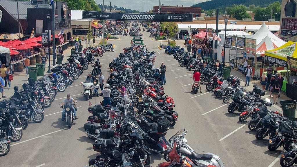 Main Street Sturgis Motorcycle Rally 2019