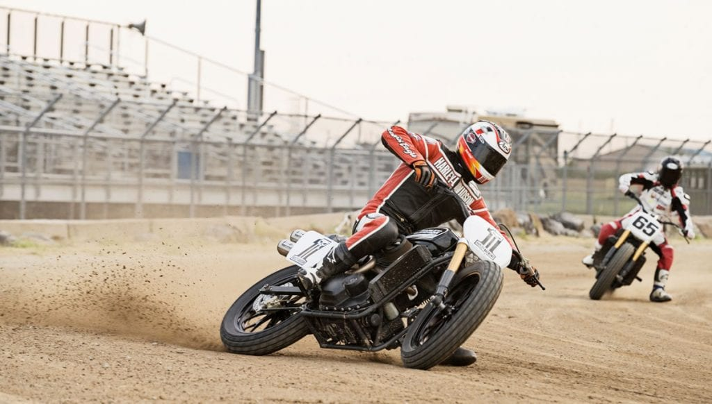 Harley hosts Live Stream Indoor Races Free on Facebook