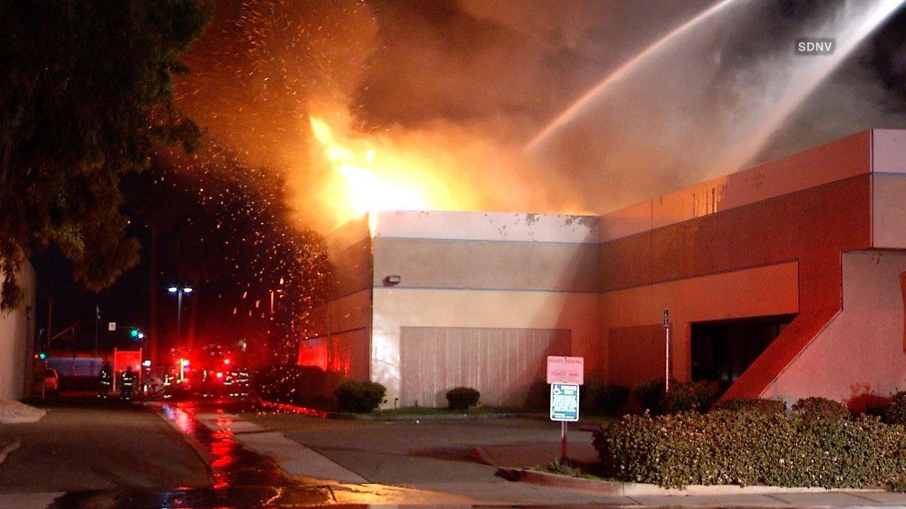 2 Alarm Fire Destroys Southern California Import Motorcycle Dealer