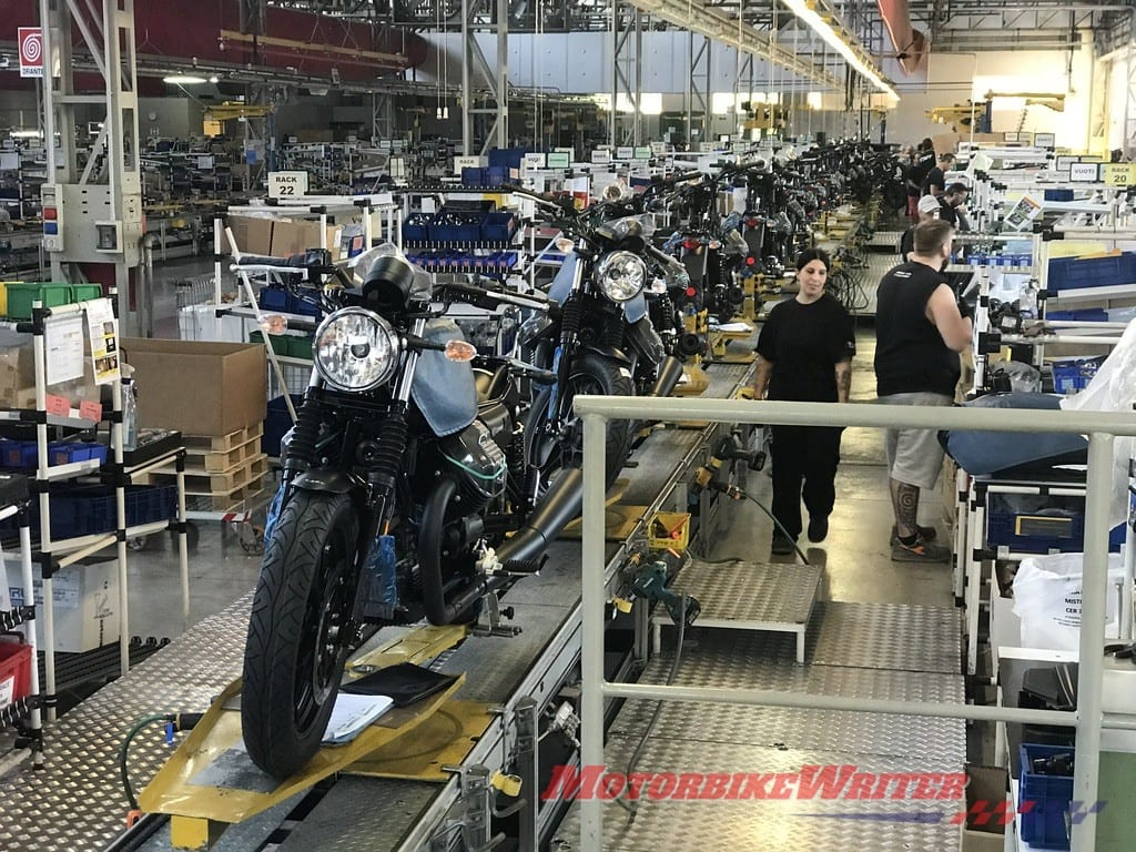 Motorcycle Factories Shut Down Due to Corona Virus