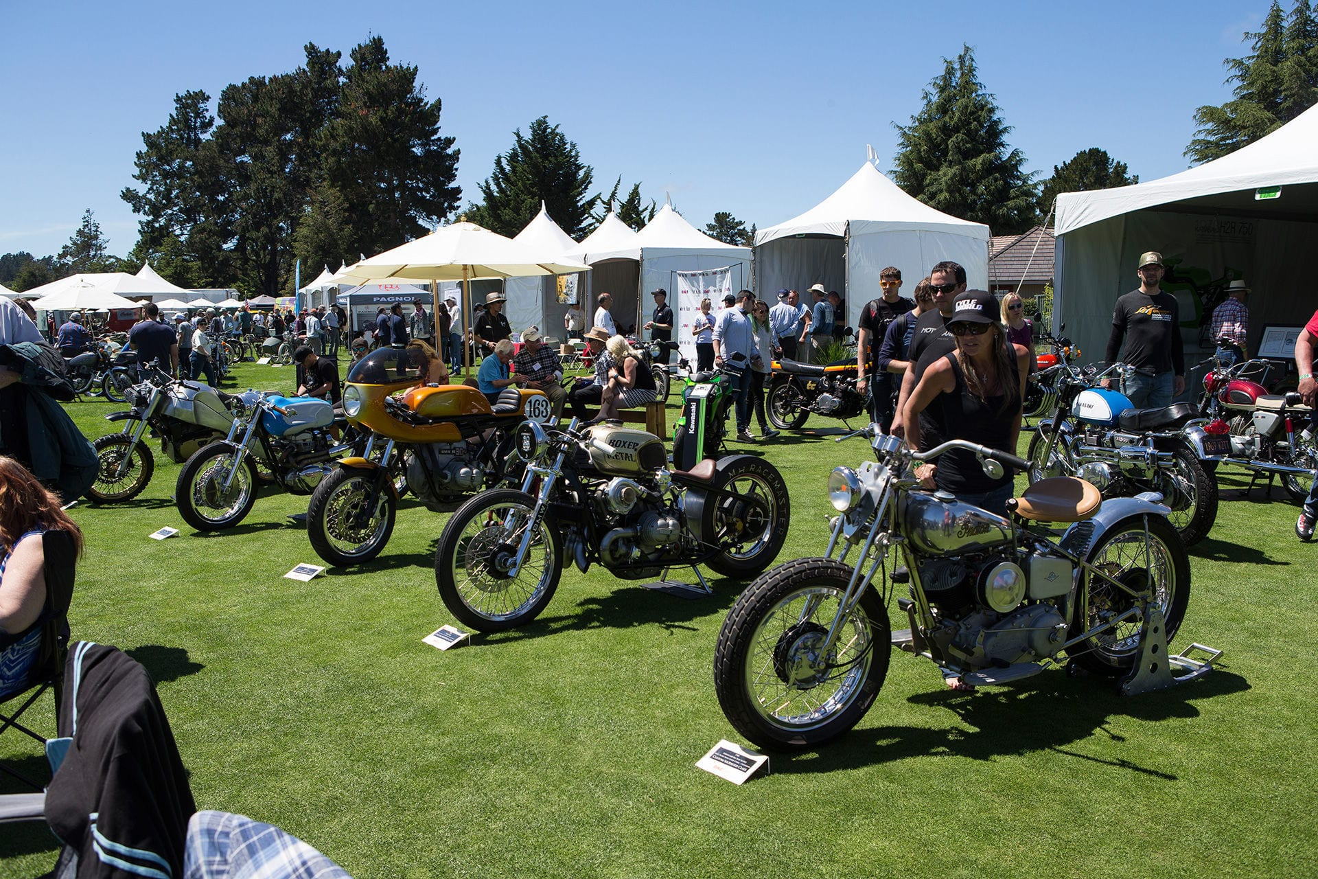 9th Annual Quail Motorcycle Show in Monterey this Weekend