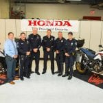 Honda donates two Africa Twin Bikes to the Redondo Beach Police Department