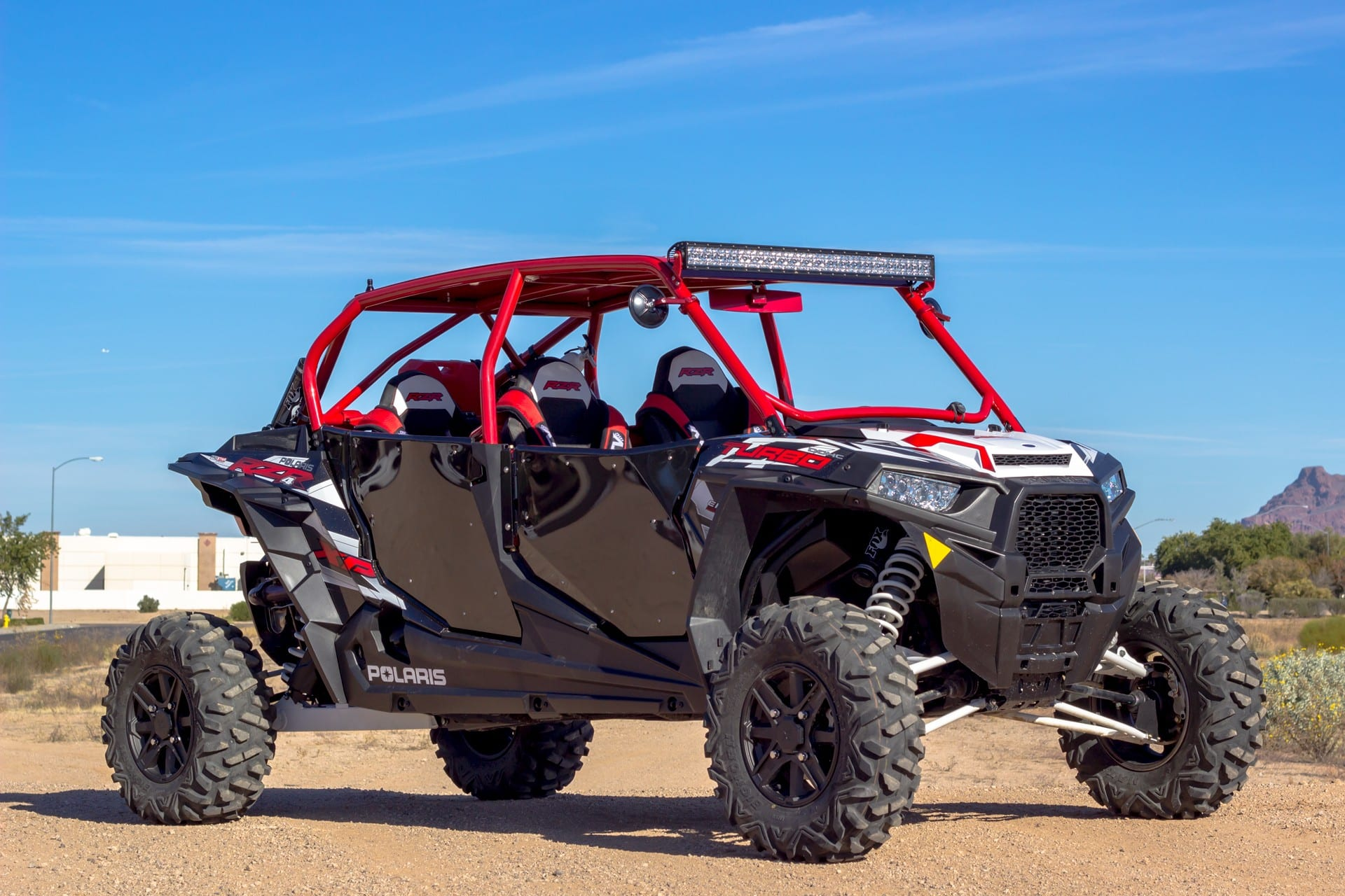 Polaris RZR Turbo Engine Fire Recall