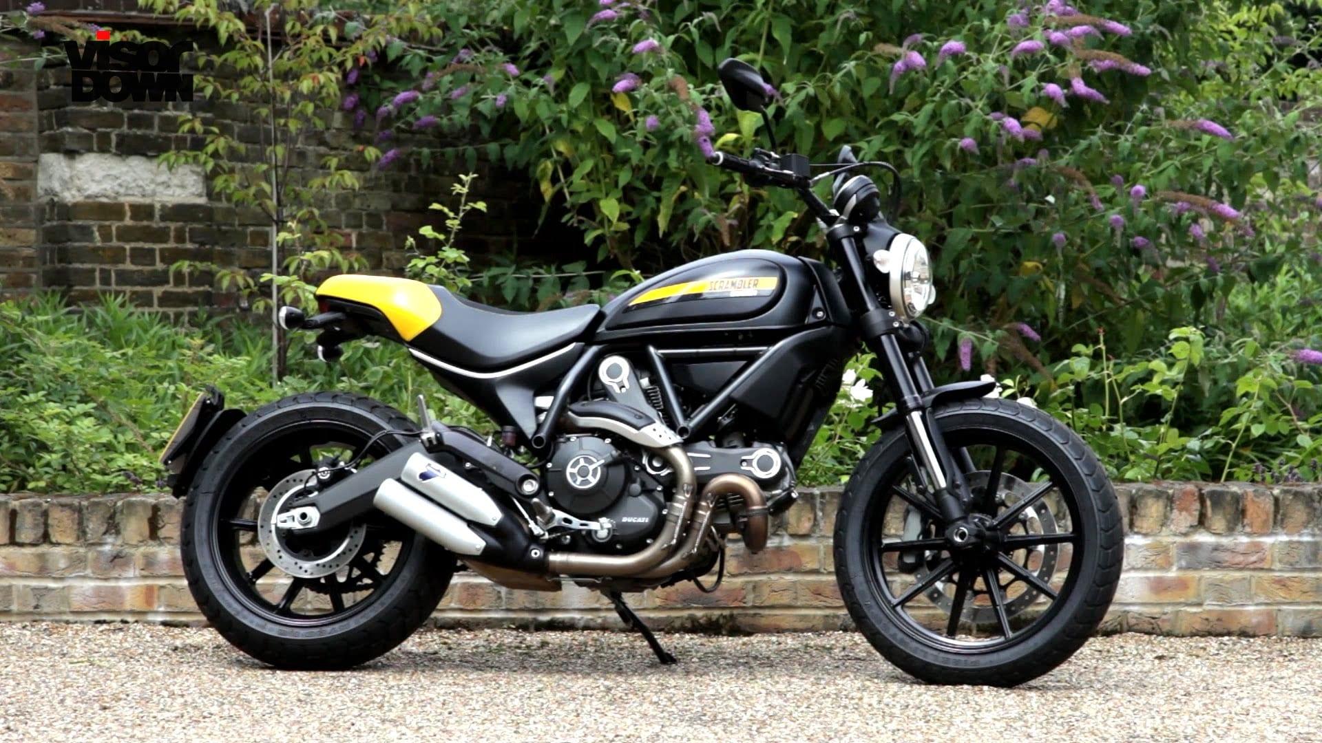 Ducati Scrambler Side Stand Pivot Nut Recall