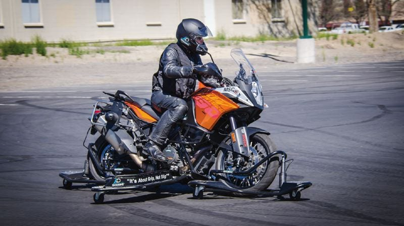 Skid Bike at the State Motorcycle Safety Summit