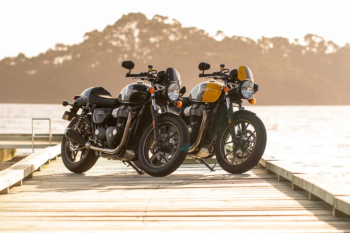 2017-2018 Triumph Street Cup Wiring Recall | CycleVin