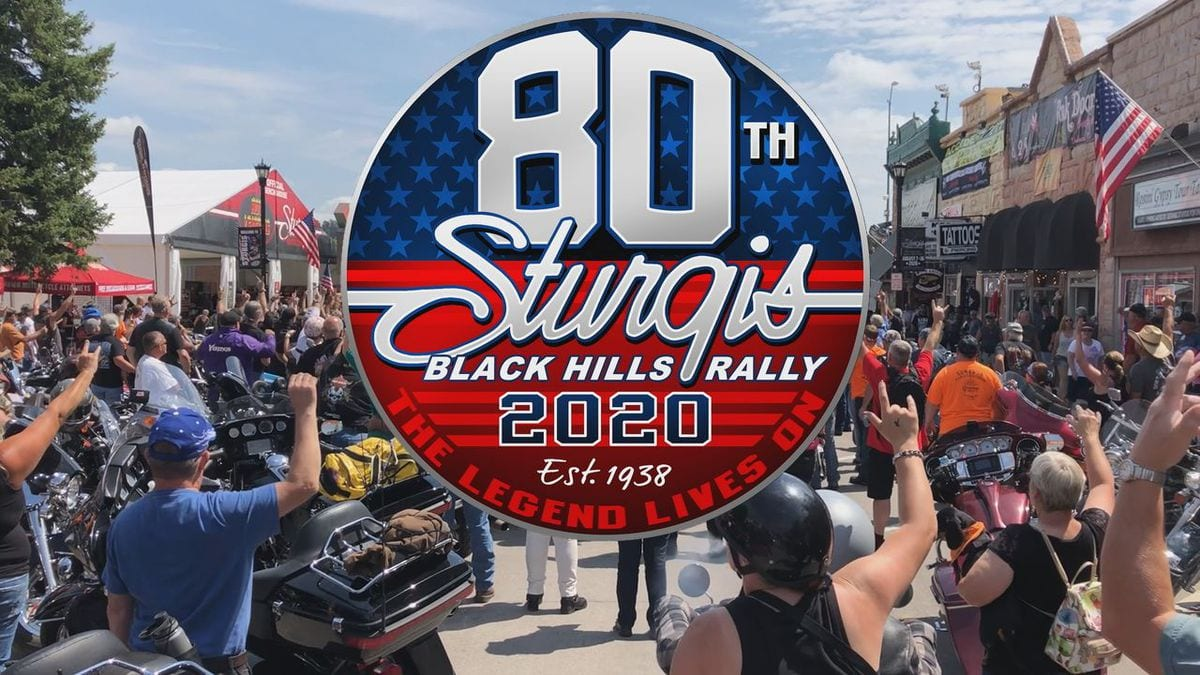 80th Annual Sturgis Motorcycle Rally August 2020