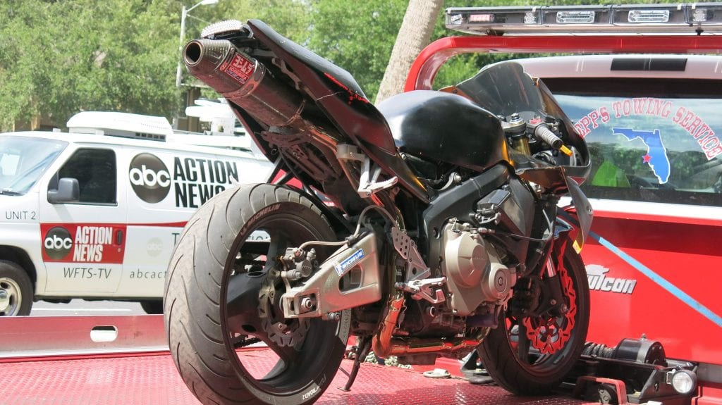 Biker Caught After Posting Video of Motorcycle Heist on Facebook