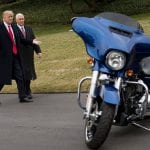 Trump Meets Harley-Davidson Executives at the White House