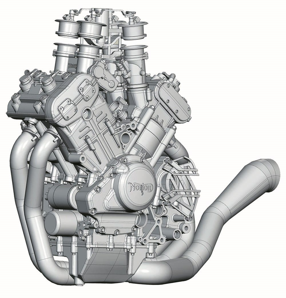 Norton Superbike V4 1200 Engine