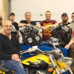 Polaris Indian Motorcycle Engines Donation to WITC