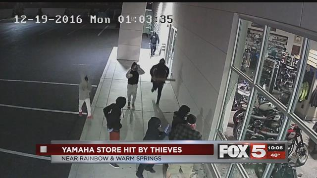 Yamaha Dealership has 8 Motorcycles Stolen by Gang of Thieves