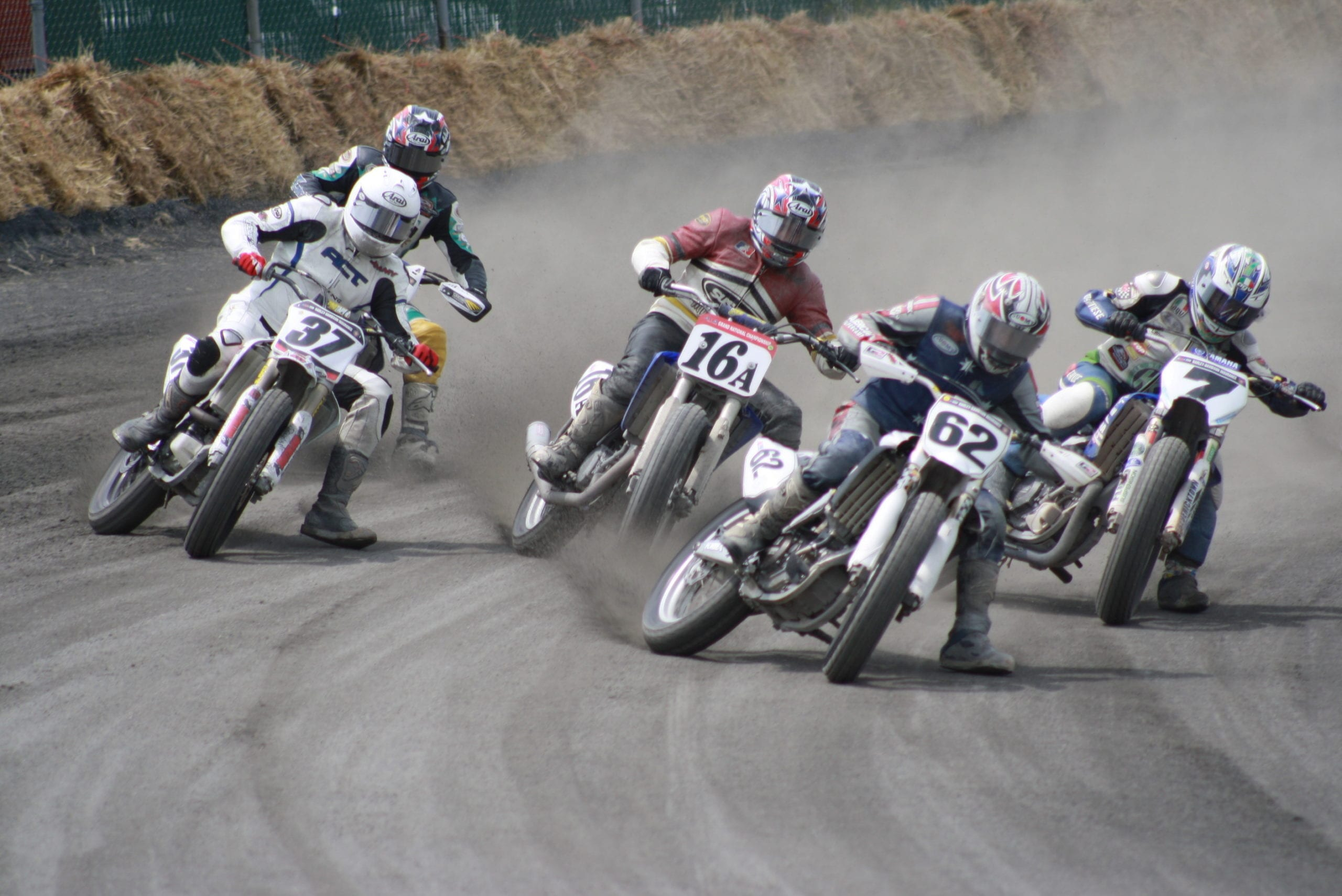 AMA Pro Flat Track Half Mile Races at Black Hills Speedway Sturgis