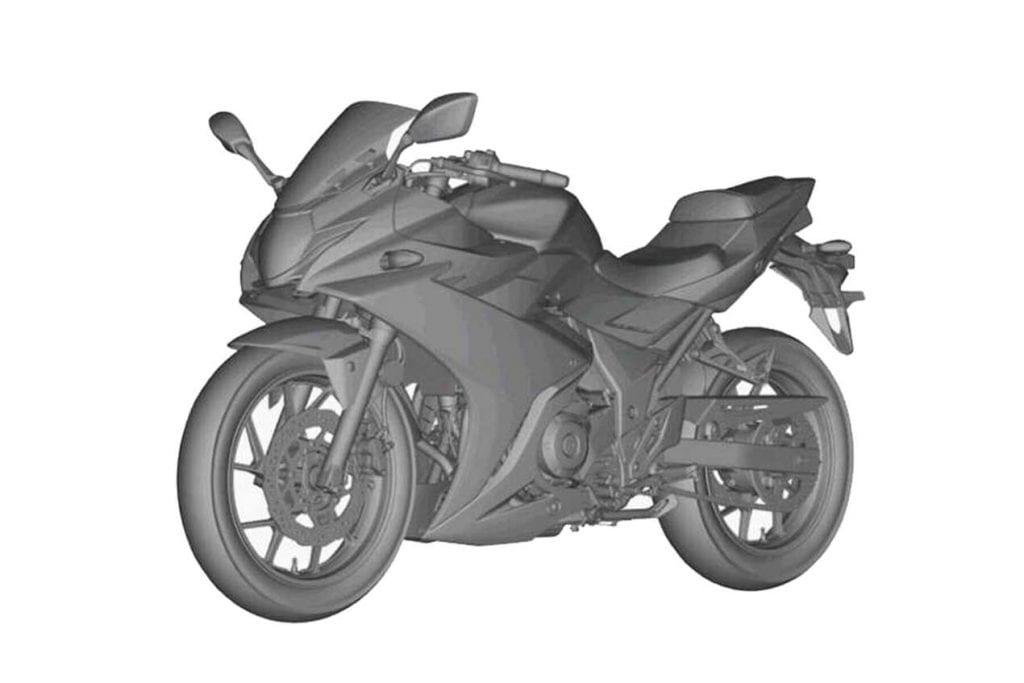 Suzuki GSX-R 250 Patent