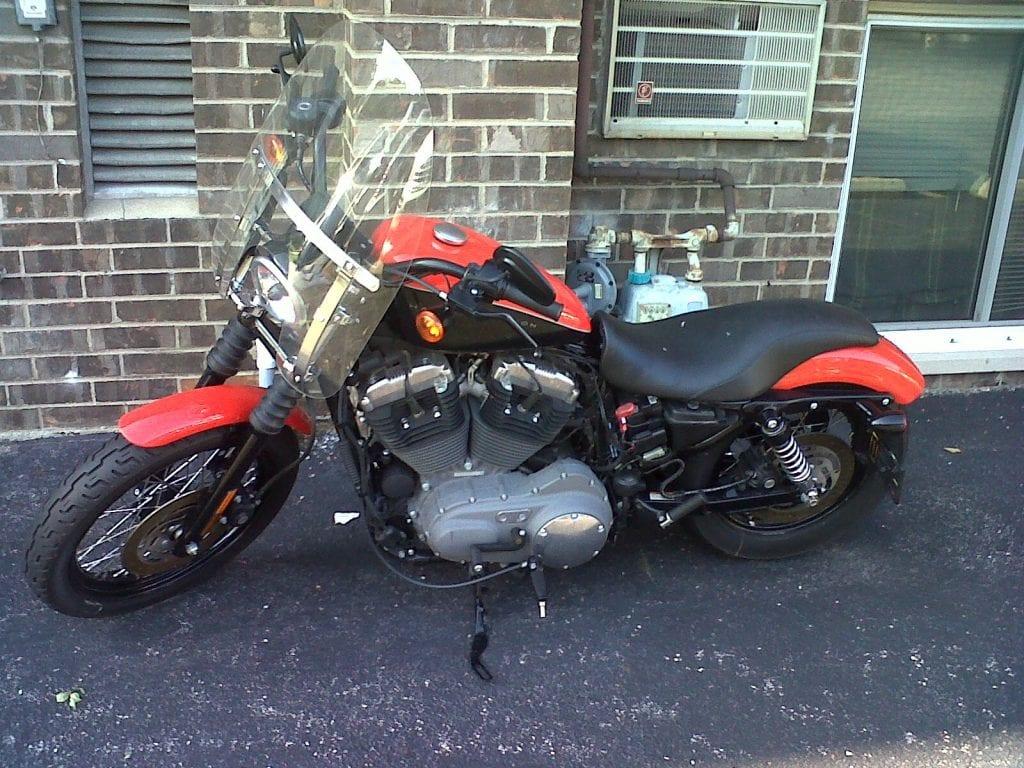 Man Arrested for theft of Harley-Davidson Bike