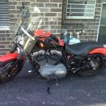 Man Arrested for theft of Harley-Davidson Bike