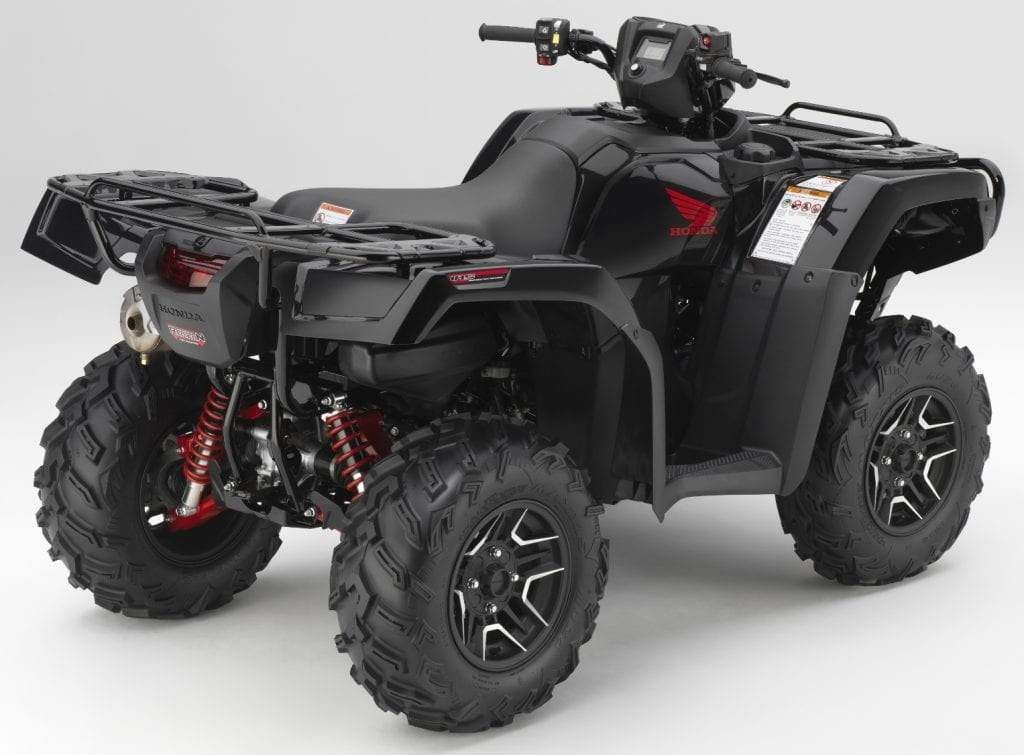 Four Wheeler With Rims: Honda's New 2017 ATV Lineup