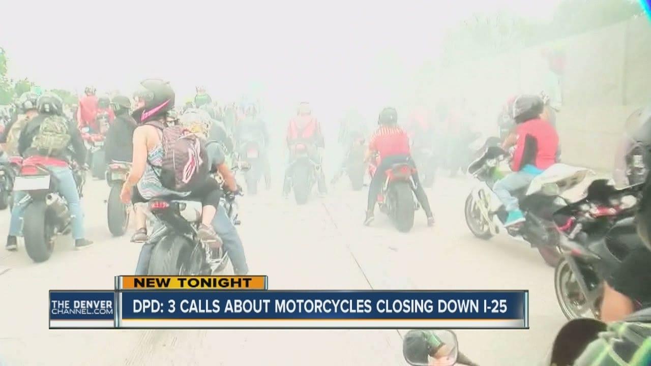Denver Police Seize Motorcycles