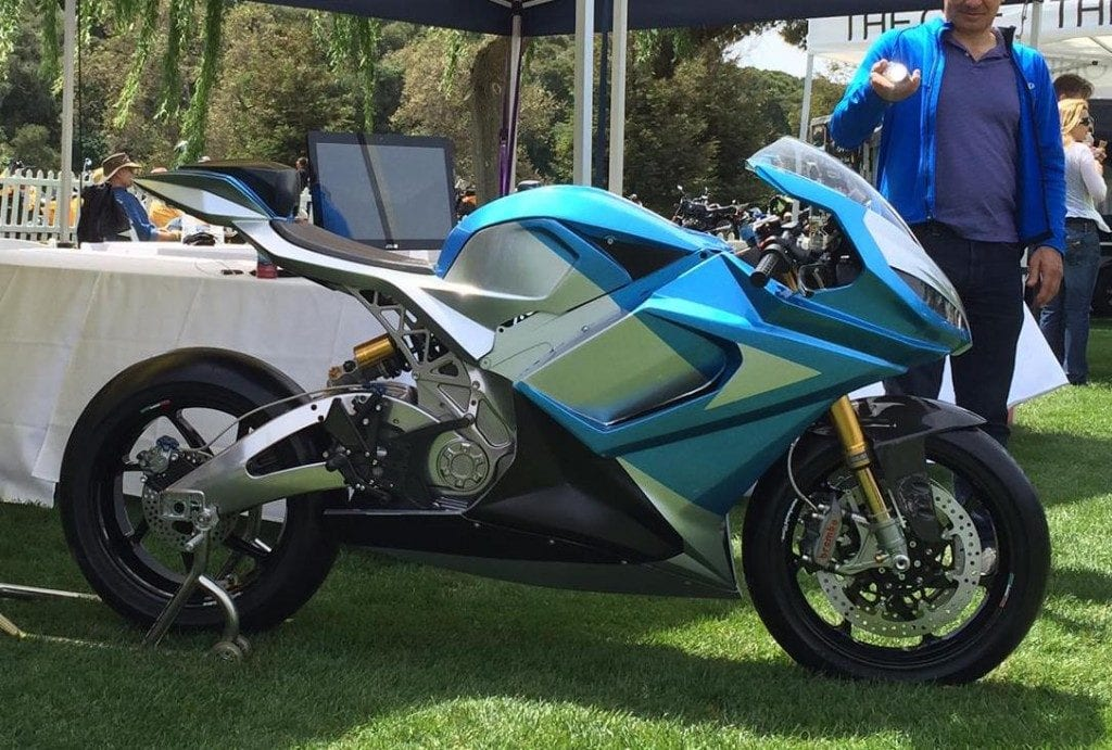 Lightning Motorcycles Electric Prototype that can go from San Francisco to Los Angeles on a Single Charge