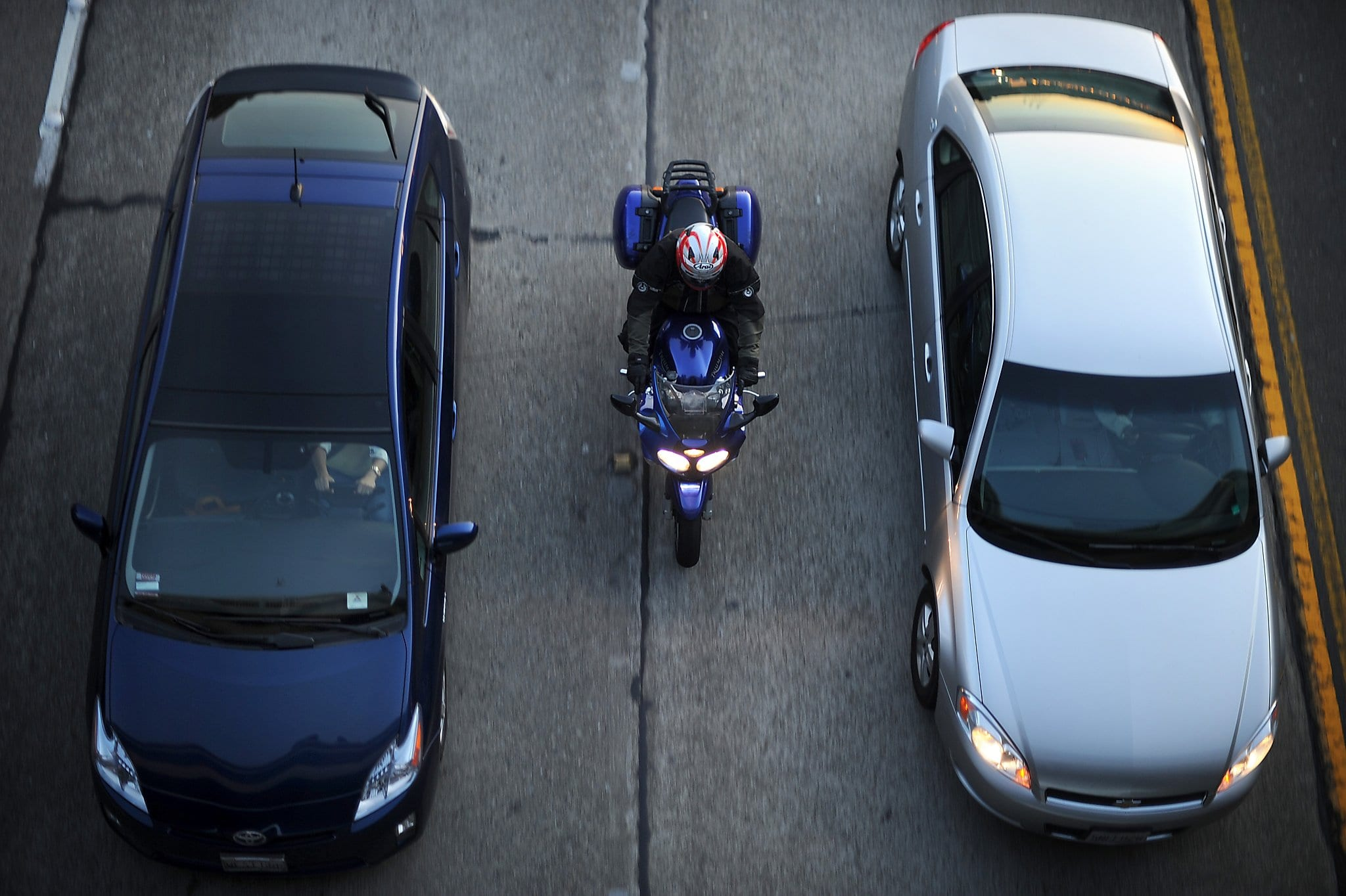 California Lane Splitting Legalized