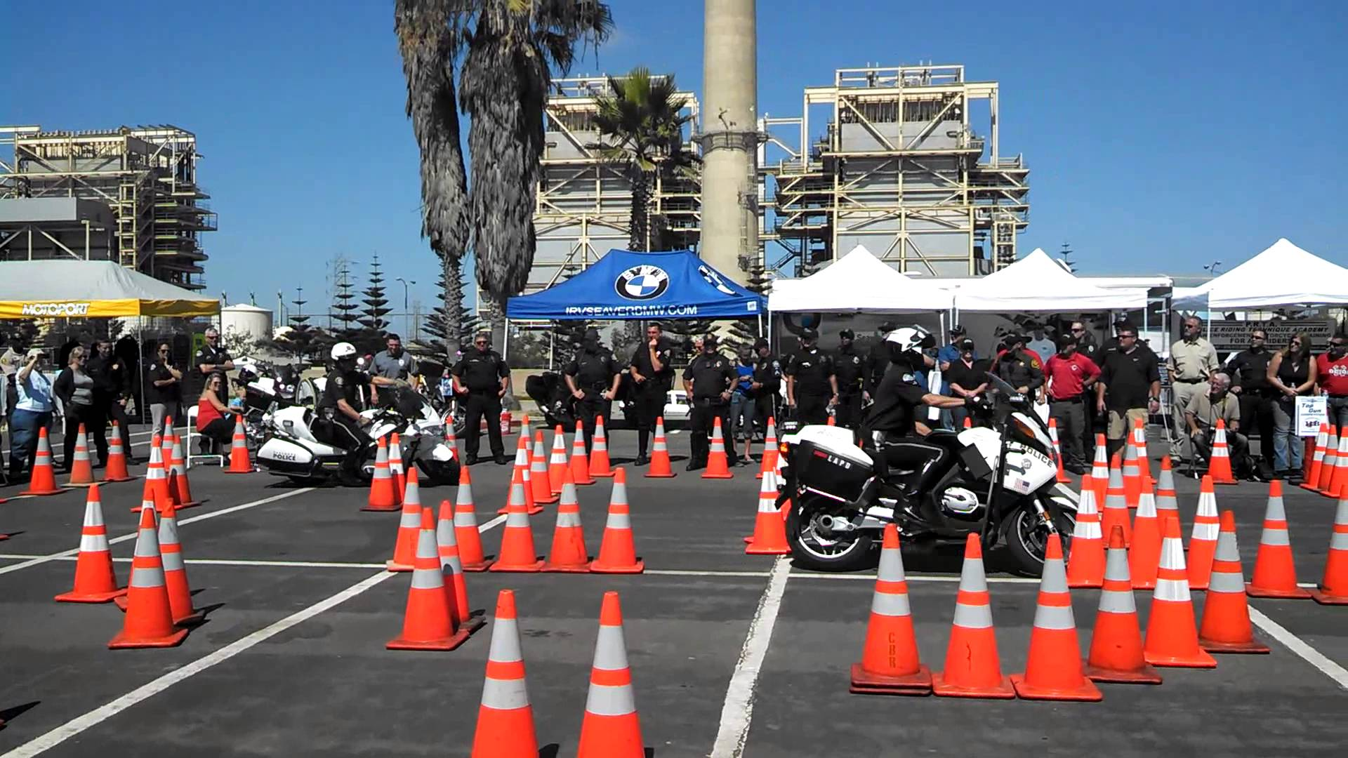Orange County Traffic Officers Association Police Motorcycle Skills