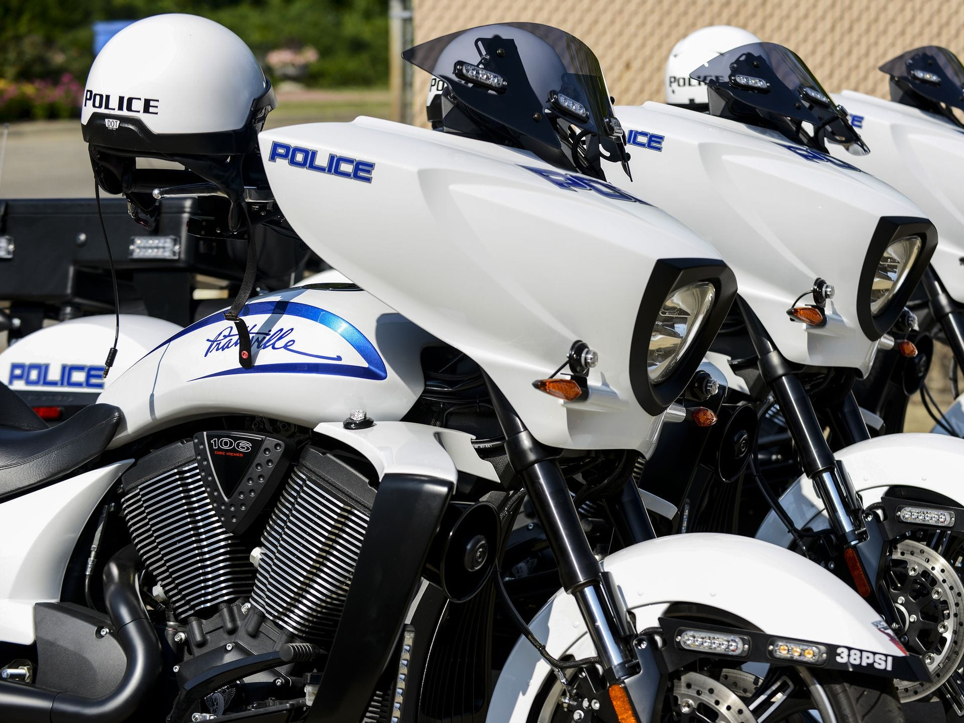 Prattville Victory Police Motorcycles