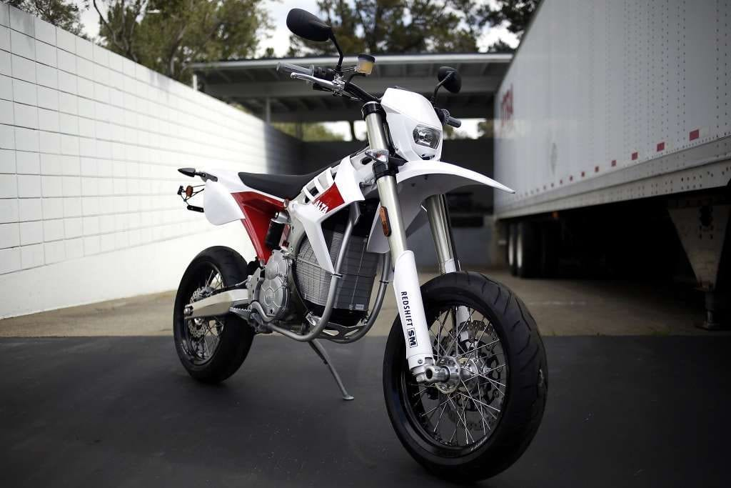 Alta Electric Motorcycle Redshift SM