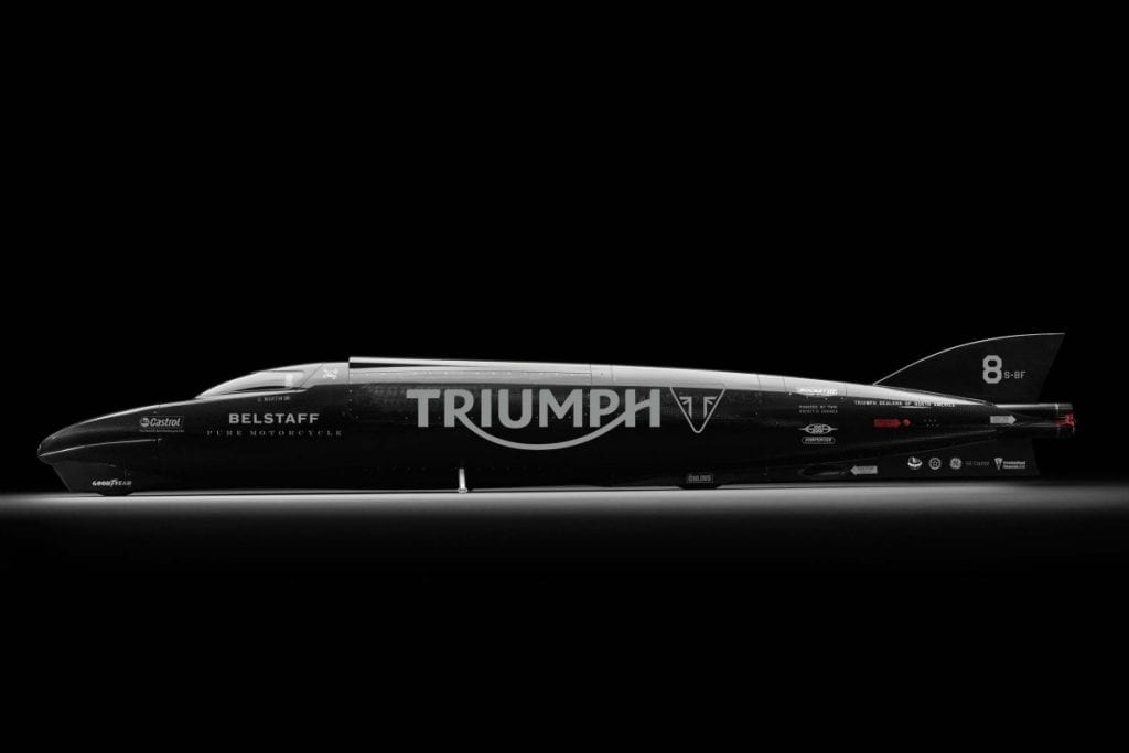 Triumph Rocket Bonneville Streamliner