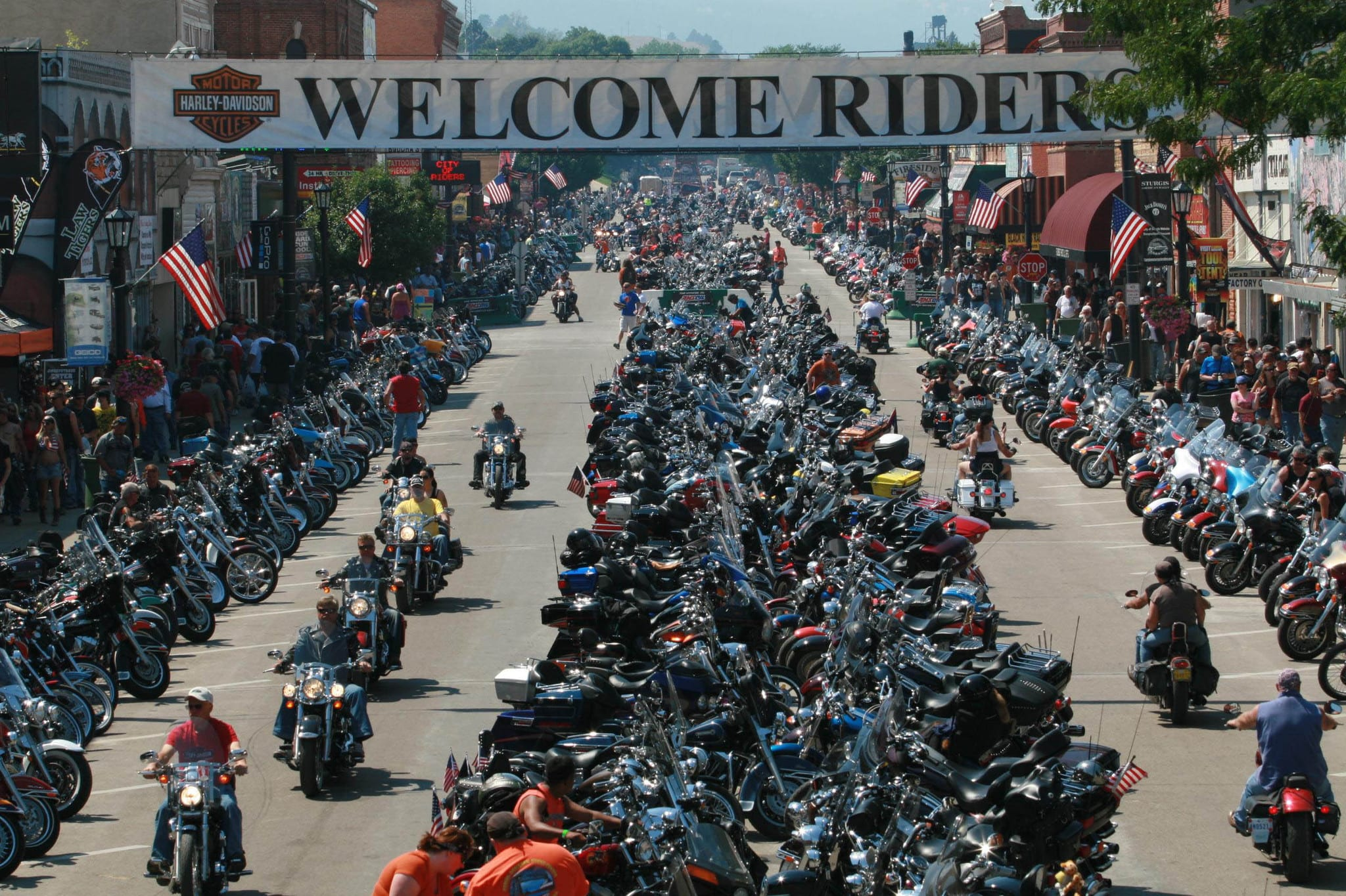 Sturgis South Dakota Motorcycle Rally 2016