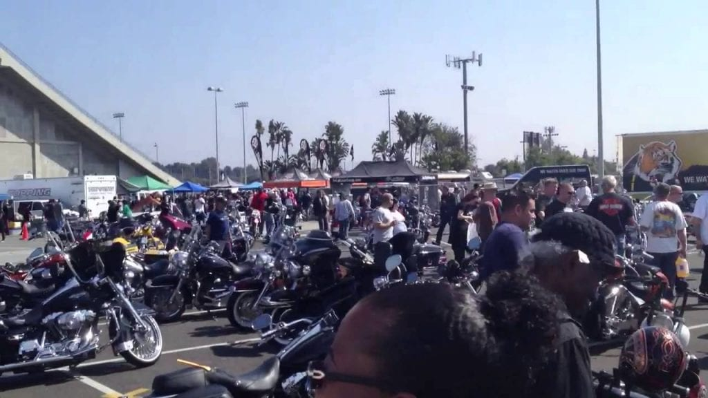 Motorcycle Swapmeet In Long Beach