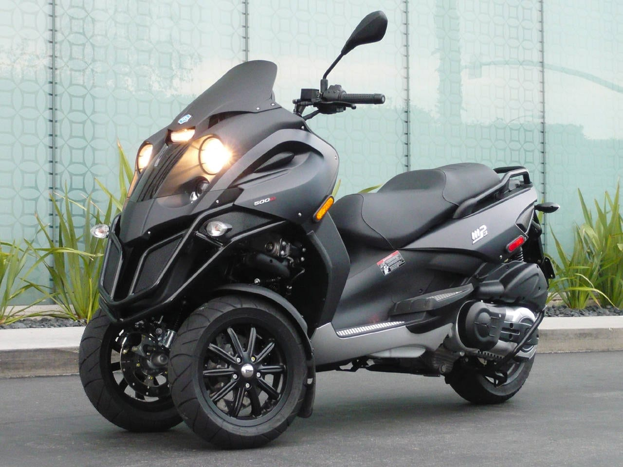 Piaggio MP3 Brake Line Recall Alert