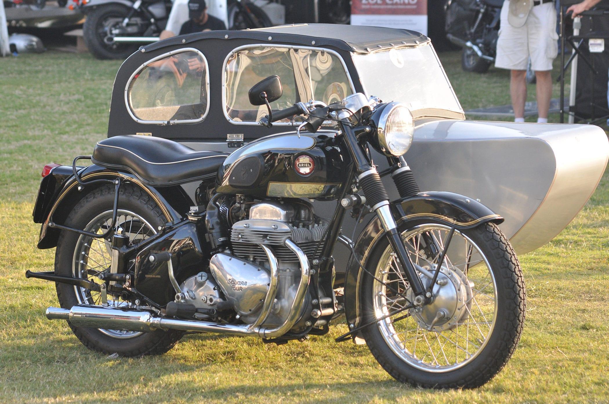 Vintage Ariel Motorcycle